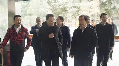 双流区委书记韩轶一行莅临永亨视察调研