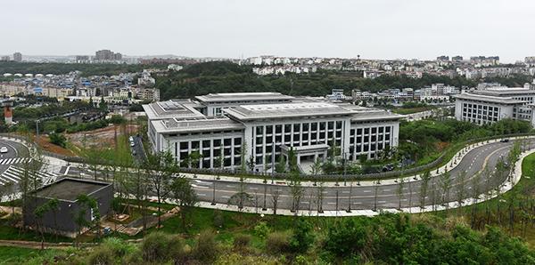 绵阳市政府综合体档案管理中心