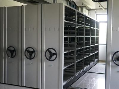 柳州市住房公积金管理中心采购永亨导轨密集架