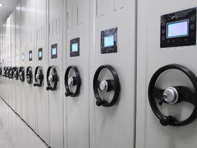 贵州南湖景工贸有限公司采购永亨电动密集架