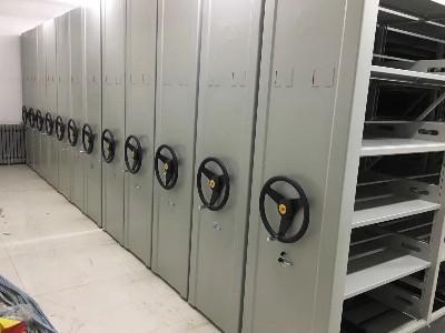 兰州五里铺小学采购永亨档案密集架